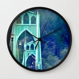 ST. JOHN'S BRIDGE Wall Clock