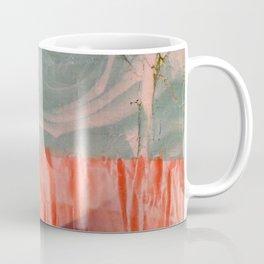 lavender, blue & peach portrait Coffee Mug