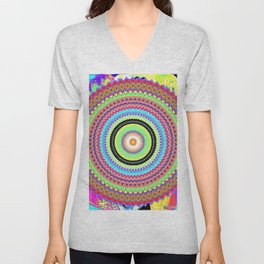 Kaleidoskop Unisex V-Neck