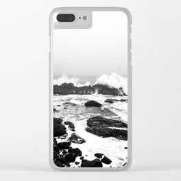 Waves Crash Clear iPhone Case