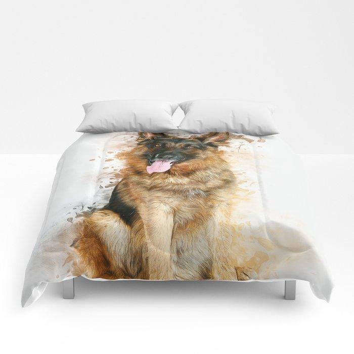 German Shepherd Comforters