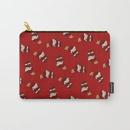 Donald Trump in Santa Claus suite mooning Carry-All Pouch