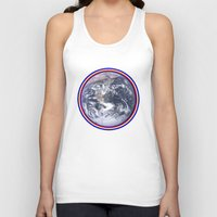 earth Tank Tops featuring Earth by Spooky Dooky
