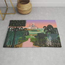 Dream for a Castle Rug