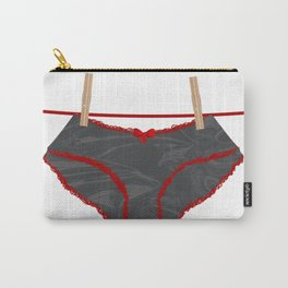 Washing Line Undies Carry-All Pouch