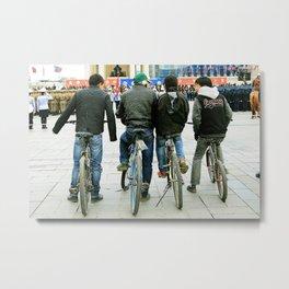 Easy Riders Metal Print