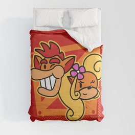 A couple of bandicoots Comforters