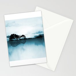 Nature Guitar Blues Stationery Cards