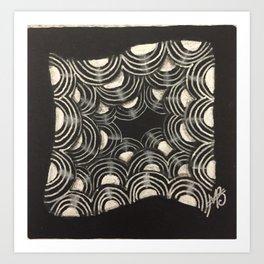 Aura Zensation Art Print
