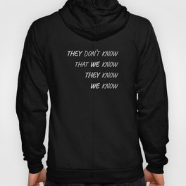 The One Where Everybody Knows Hoody