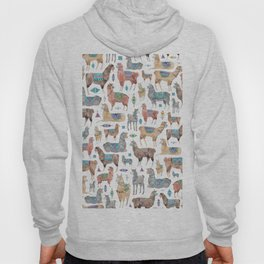 Llamas and Alpacas Hoody