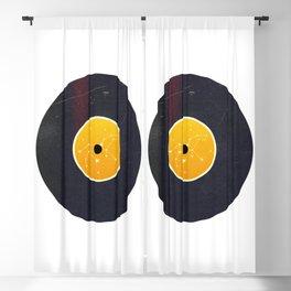 Vinyl Record Star Sign Art | Leo Blackout Curtain