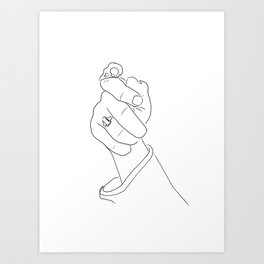 Alas, poor Sparrow! | Black on White Art Print