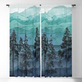 Mountains II Blackout Curtain
