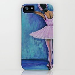 Young Ballerina Rosa iPhone Case