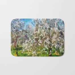 Almond Orchard Blossom Bath Mat