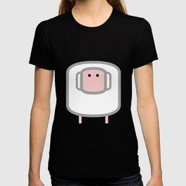 Geometric Animals of the FARM: the sheep T-shirt