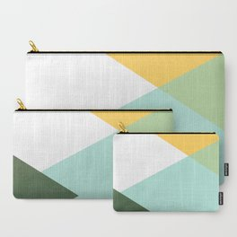 Geometrics - citrus & concrete Carry-All Pouch