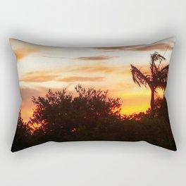 sunset in Belmont Rectangular Pillow