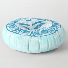 New Moon Floor Pillow