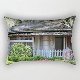 Japanese Tea House Rectangular Pillow