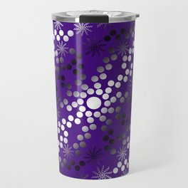 Abstract Mixed Media Series Sunshine Breaking Through the Clouds 23 Travel Mug
