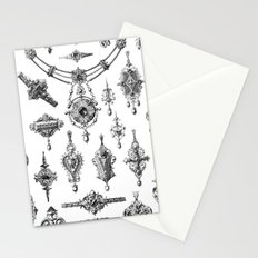 Jewels and Trinkets Stationery Cards