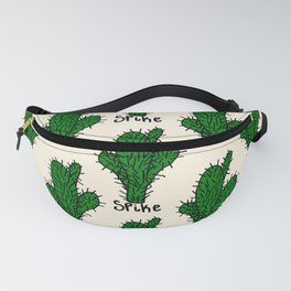 spike pat. Fanny Pack