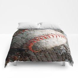 Baseball art Comforters