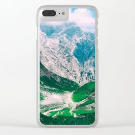 View of the majestic Madeira mountains Clear iPhone Case