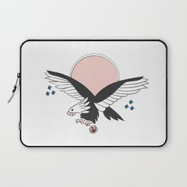 Eagle of the free and the brave Laptop Sleeve