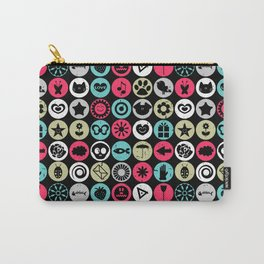 Colorful pattern with various elements Carry-All Pouch