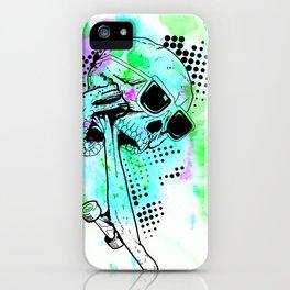 Skater Deadication iPhone Case