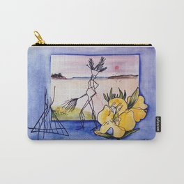 `GLOOSCAP'  From the Mic Macs, Canada Lege     by Kay Lipton Carry-All Pouch