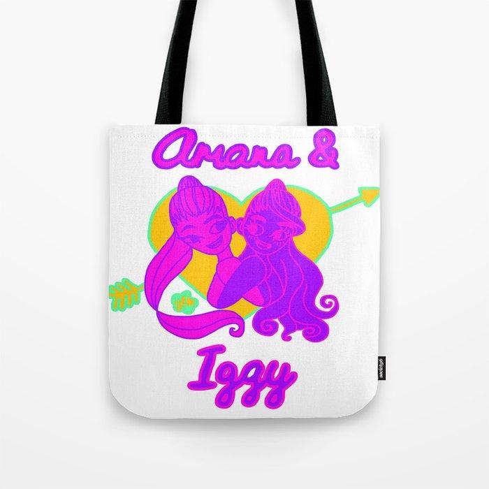 5bc5cbc2b73d Ariana Grande Ft. Iggy Azalea #2 Tote Bag by glopesfirestar | Society6