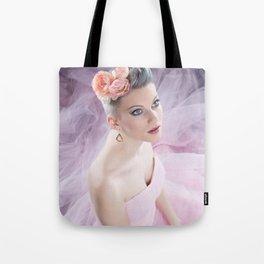 Rose in pink Tote Bag