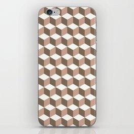 Cube vison iPhone Skin