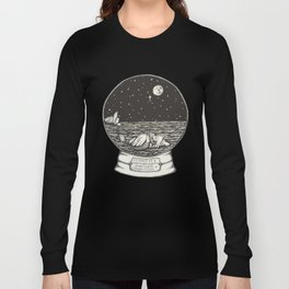 Mermaid Snow Globe Long Sleeve T-shirt