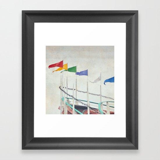 High Flyers Framed Art Print