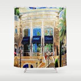 Fashion Vegas Style Shower Curtain
