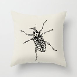 Botany Bay Weevil Throw Pillow