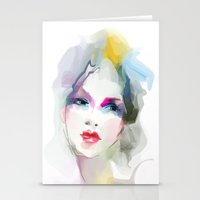 decorative Stationery Cards featuring 	decorative by tatiana-teni