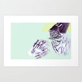 Dead Hands Art Print