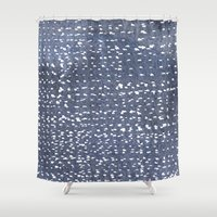 batik Shower Curtains featuring Batik 2 by Dream Of Forest