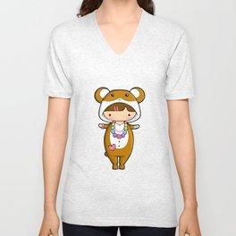 Kigurumi Hamster Unisex V-Neck