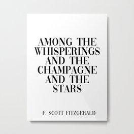 among the whisperings Metal Print