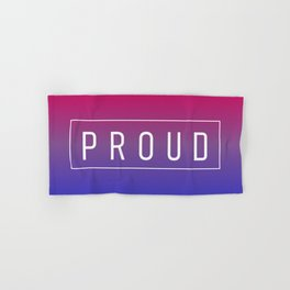 Bisexual Flag v2 - Pride Hand & Bath Towel