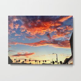 "Redondo Beach ""A Day's End"" Metal Print"