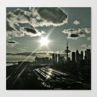 toronto Canvas Prints featuring Toronto by MSG Imaging