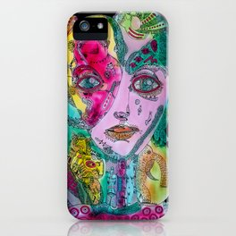 EYES OF INTENSE BEAUTY 2    2013 NEW DESIGN iPhone Case